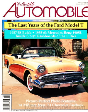 Collectible Automobile Volume 17 Number 5