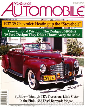 Collectible Automobile Volume 17 Number 6