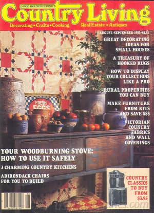 Country Living August 1980
