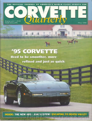 Corvette Quarterly Fall 1994