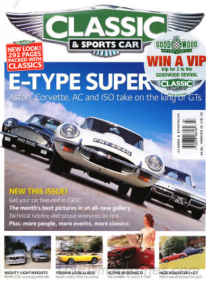 Classic and Sports Car July 2004