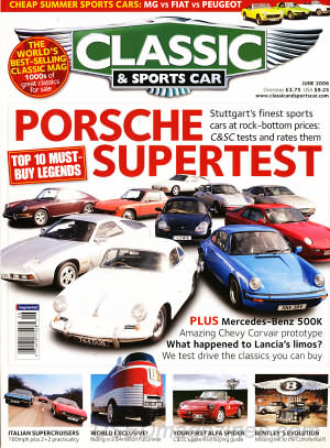 Classic and Sports Car June 2006