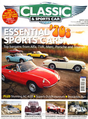 Classic and Sports Car March 2008