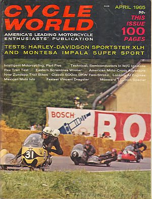 Cycle World April 1965