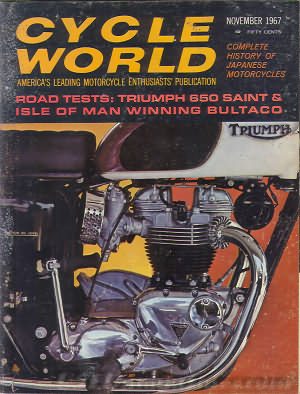 Cycle World November 1967
