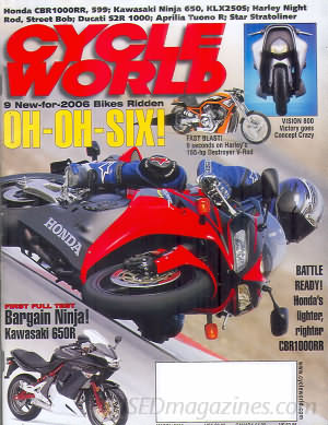 Cycle World March 2006