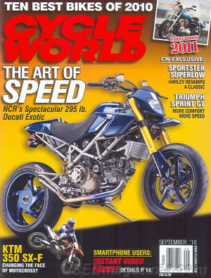 Cycle World September 2010