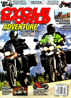 Cycle World October 2011