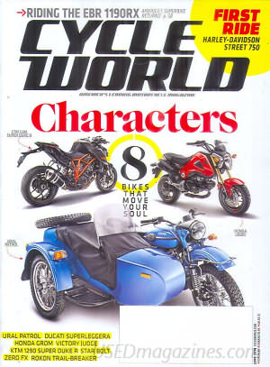 Cycle World June 2014