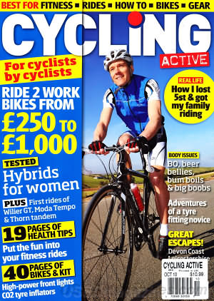 Cycling Active October 2010