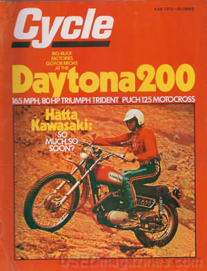 Cycle June 1970