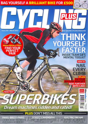 Cycling Plus March 2012