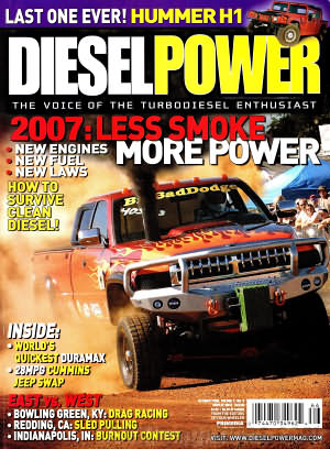 Diesel Power October 2006