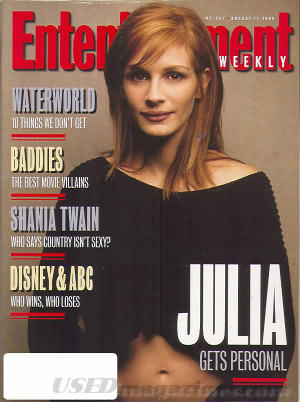 Entertainment Weekly August 11, 1995