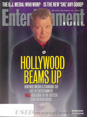 Entertainment Weekly October 13, 1995