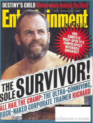 Entertainment Weekly September 01, 2000