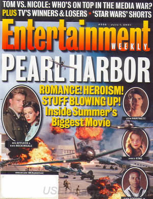 Entertainment Weekly June 01, 2001