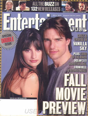 Entertainment Weekly August 24, 2001