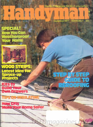 The Family Handyman September 1977