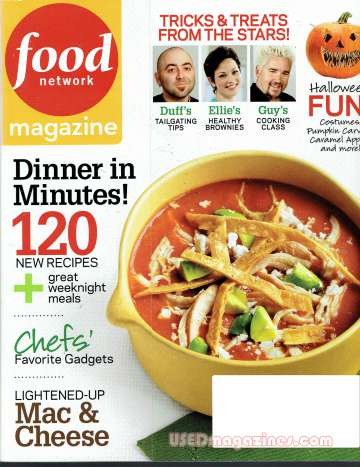 Food Network October 2009