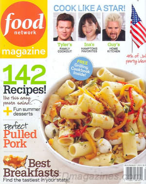 Food Network July/August 2010