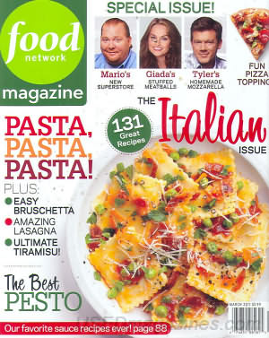 Food Network March 2011
