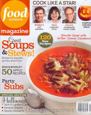 Food Network October 2012