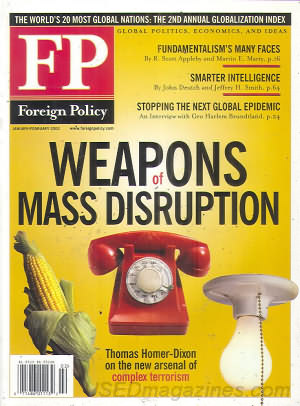 Foreign Policy January/February 2002