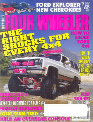 Four Wheeler September 1992