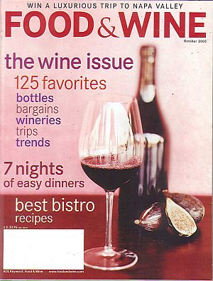 Food & Wine October 2003