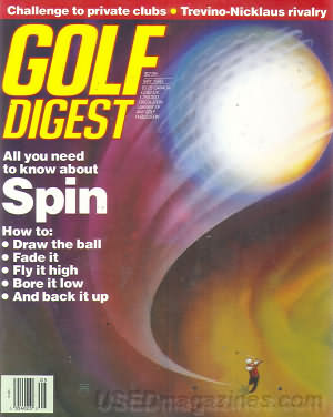 Golf Digest May 1990