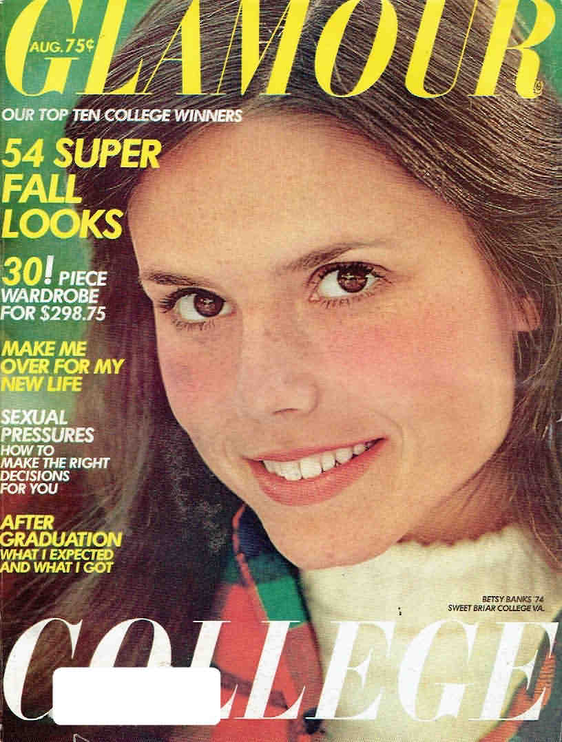 Glamour August 1974