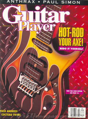 Guitar Player February 1991