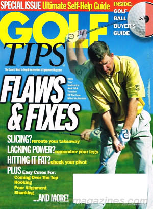 Golf Tips July 2001