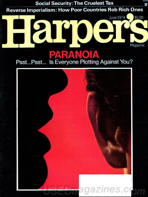 Harper's Magazine June 1974