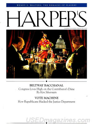 Harper's Magazine March 2008
