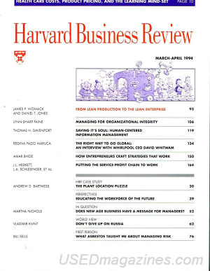 Harvard Business Review March/April 1994