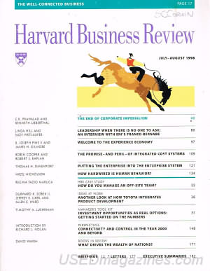Harvard Business Review July/August 1998