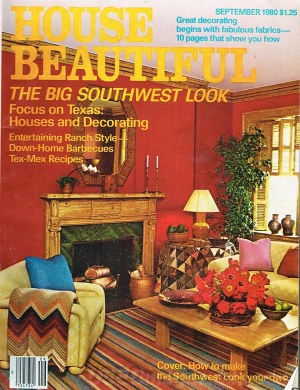 House Beautiful September 1980