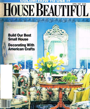 House Beautiful April 1987