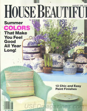House Beautiful August 1988