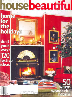 House Beautiful December 2001