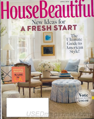 House Beautiful April 2012