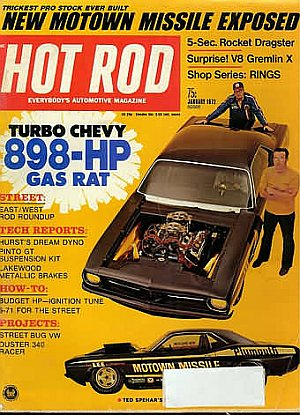 Hot Rod January 1972