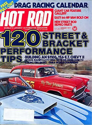 Hot Rod January 1977