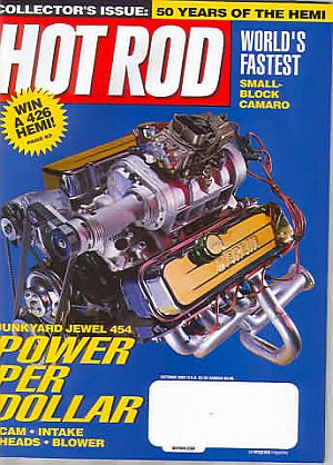 Hot Rod October 2001