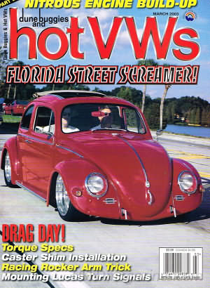 Dune Buggies and Hot VWs March 2003