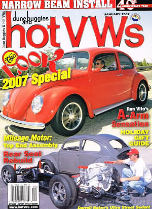 Dune Buggies and Hot VWs January 2007