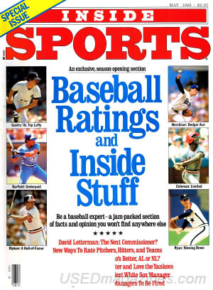 Inside Sports May 1986