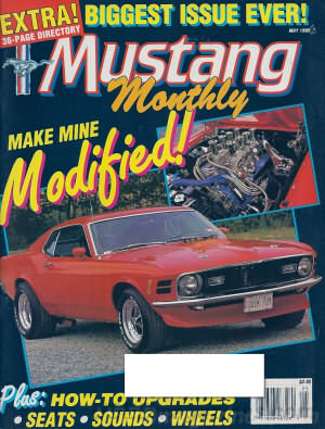 Mustang Monthly May 1990